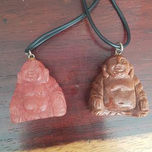 2 Buddha Necklaces